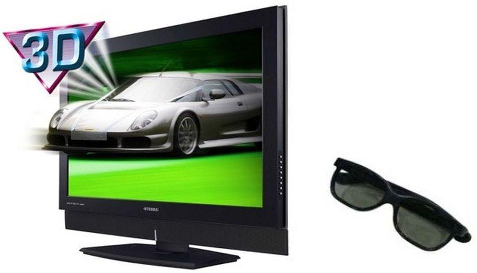 Nå er 3D TV-en her