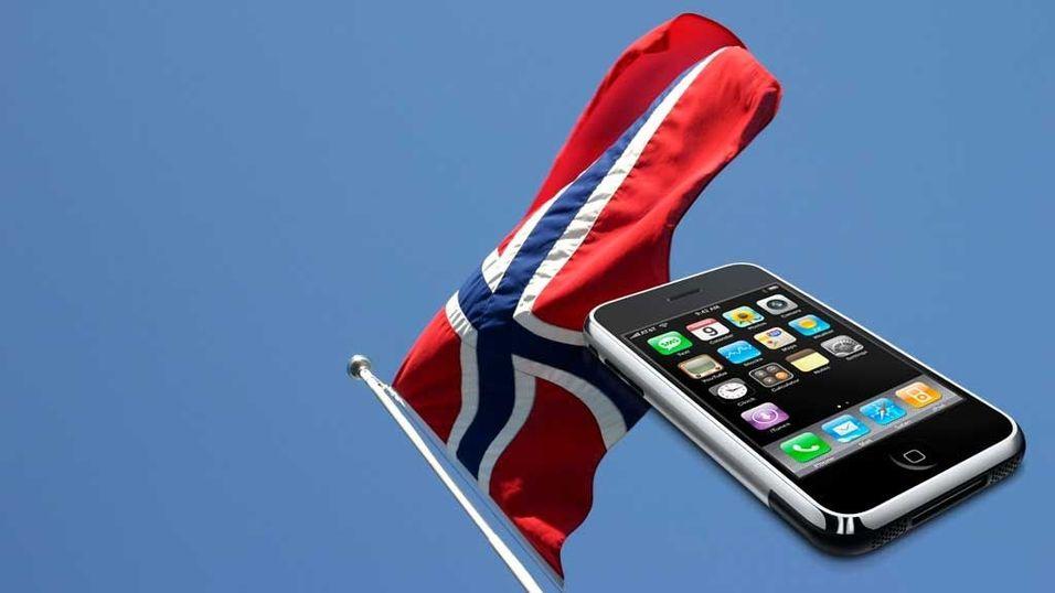 Norsk Iphone-hinder er borte
