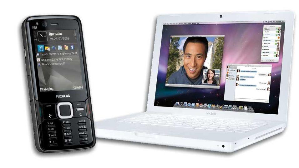 Alle Nokia-mobiler synker med Mac