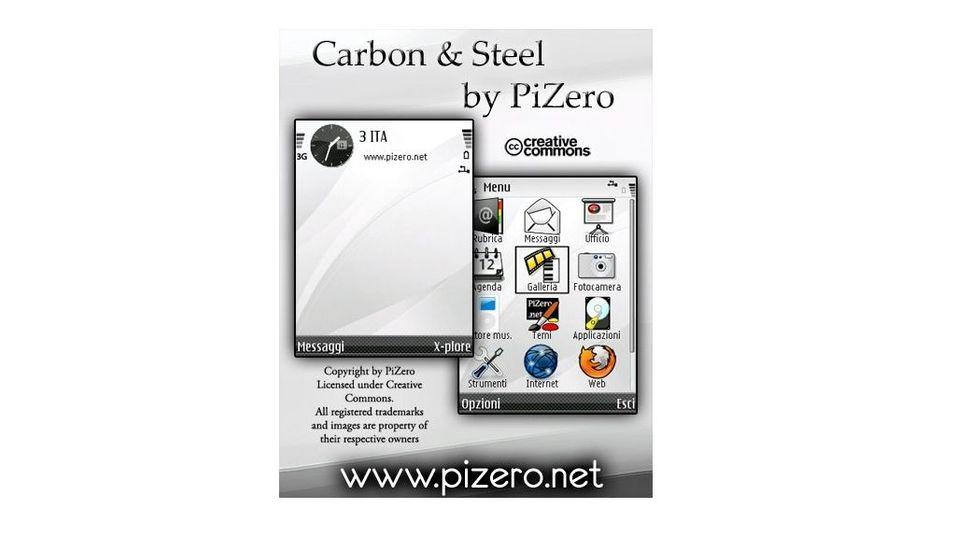 Carbon & Steel mobiltema