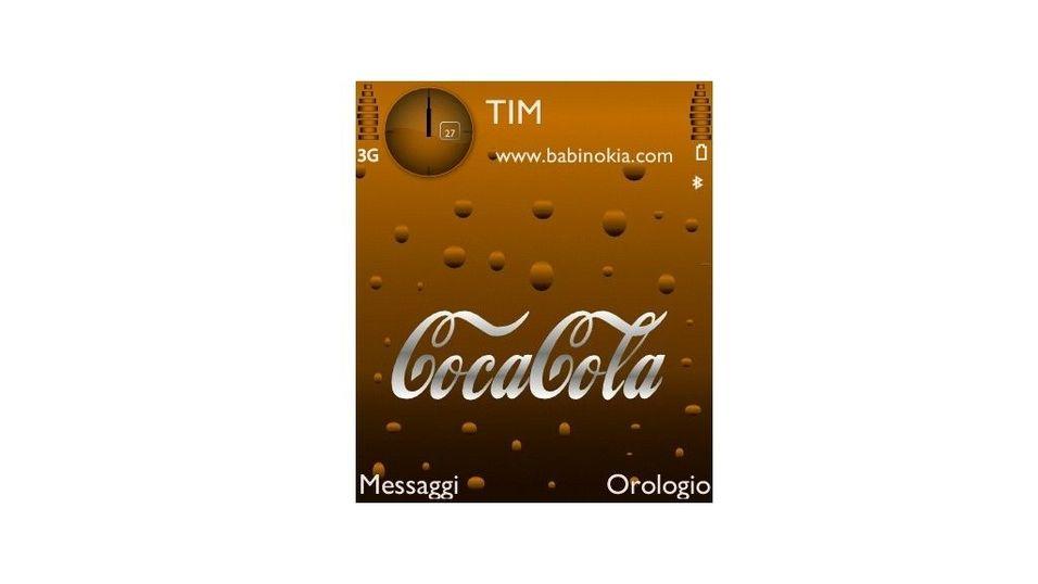 CocaCola mobiltema