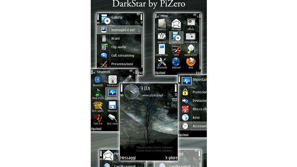 DarkStar mobiltema