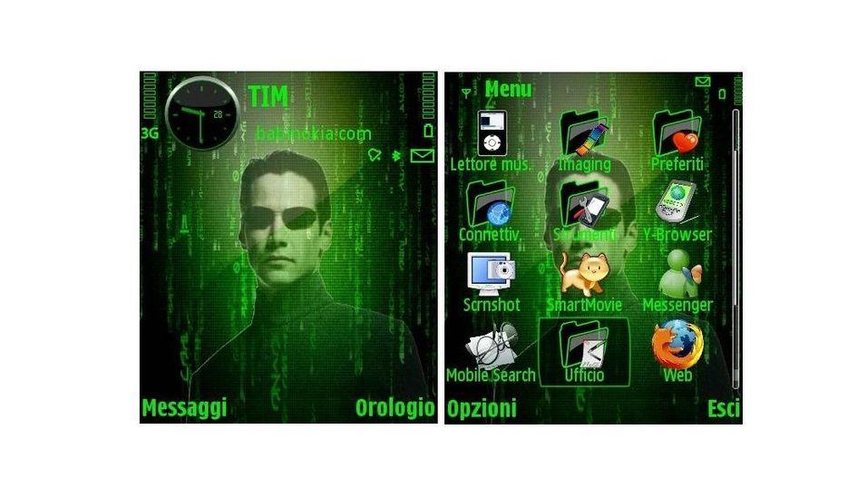 Matrix mobiltema