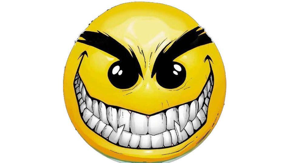 Farlig populære smileys