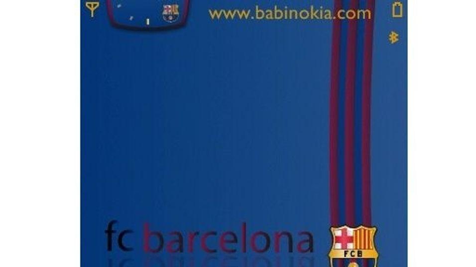 FC Barcelona mobiltema
