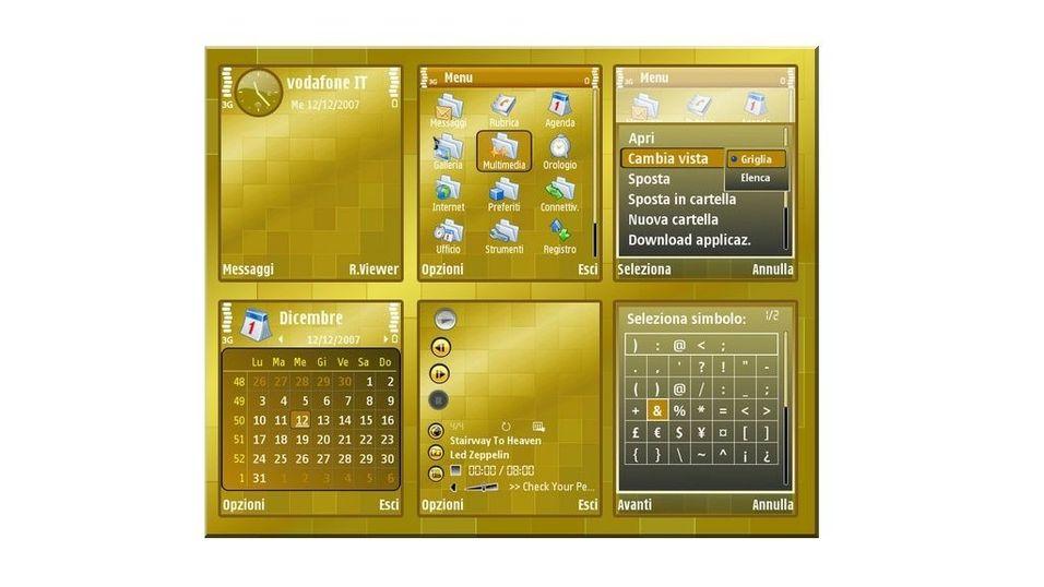 Golden Blox mobiltema