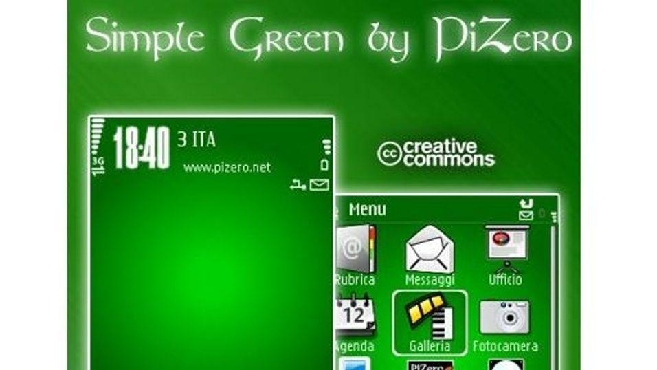 Simple Green mobiltema