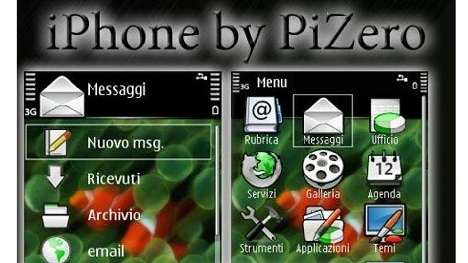 Iphone mobiltema