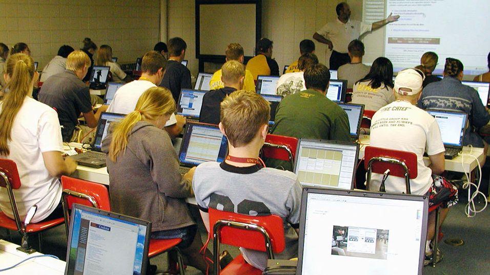 Elever mister fokus med PC