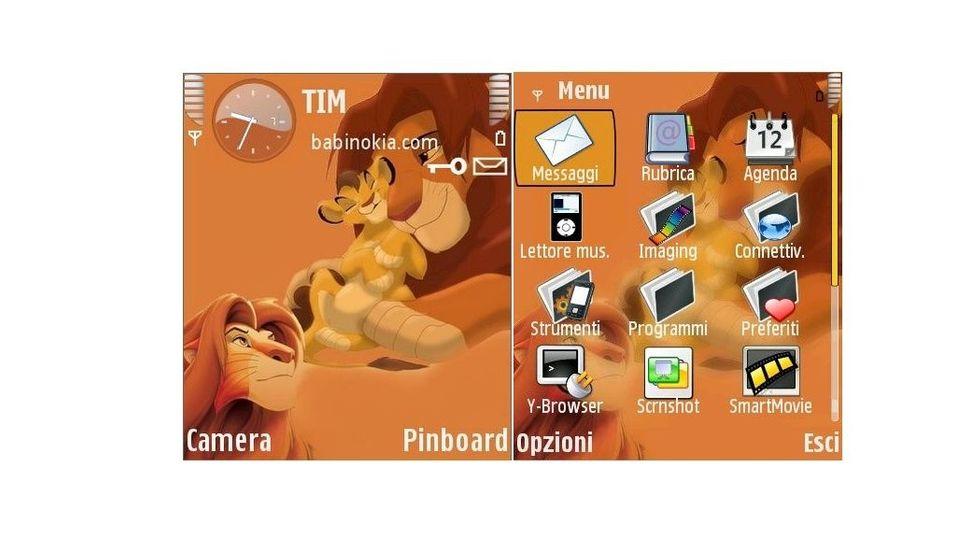 Lion King mobiltema