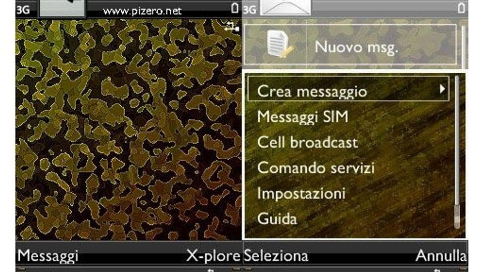 Gold Zero mobiltema