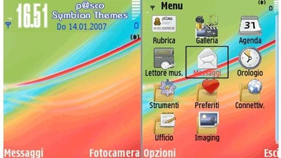 Colours mobiltema