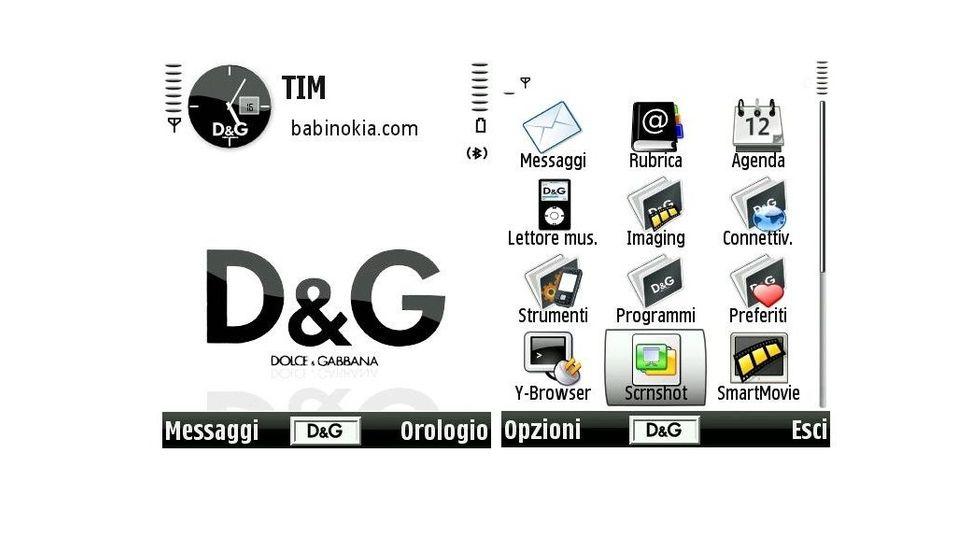 D&G mobiltema