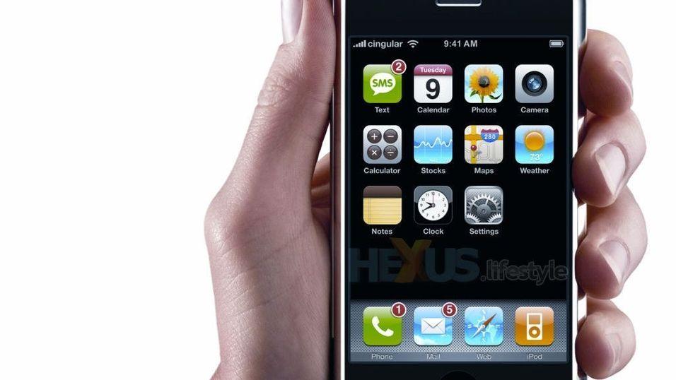 Nyhetsjag på Iphone