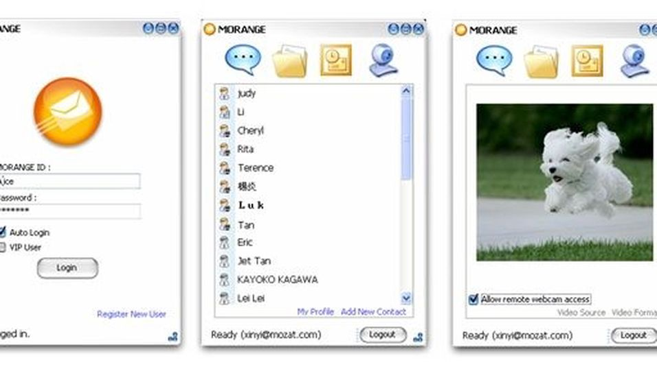 Morange Mobile Client 3.4.0 R4