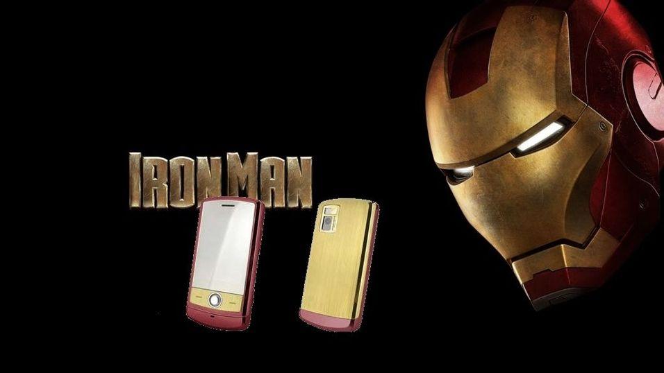 Svindyr Iron Man-mobil fra LG