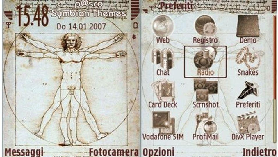 Leonardo mobiltema