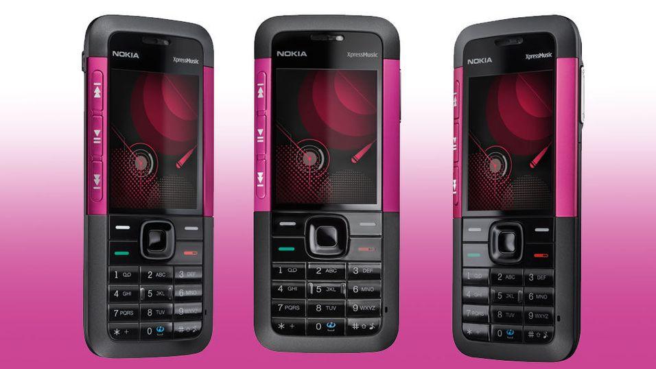 Nokia 5310 nå også i rosa