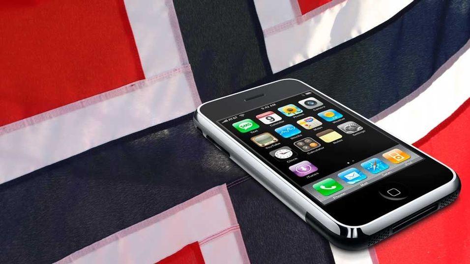 Alle får Iphone bortsett fra Norge