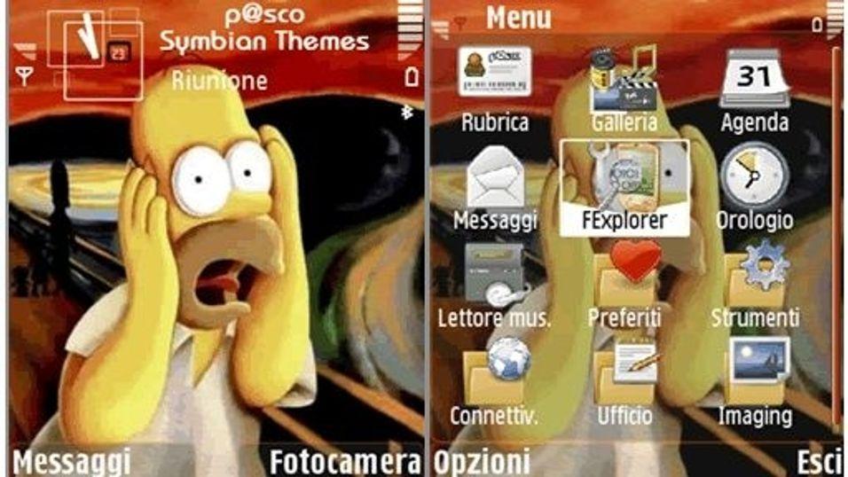 Homer Munch mobiltema