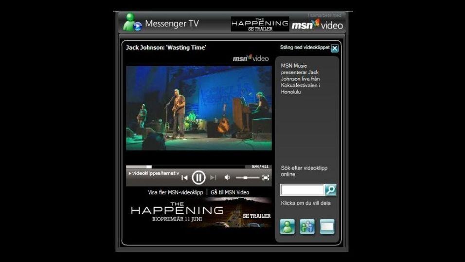 Messenger TV lansert