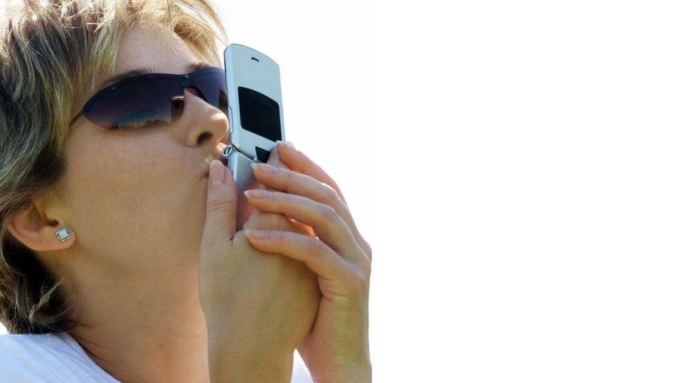 Vi sosialiserer fra mobilen