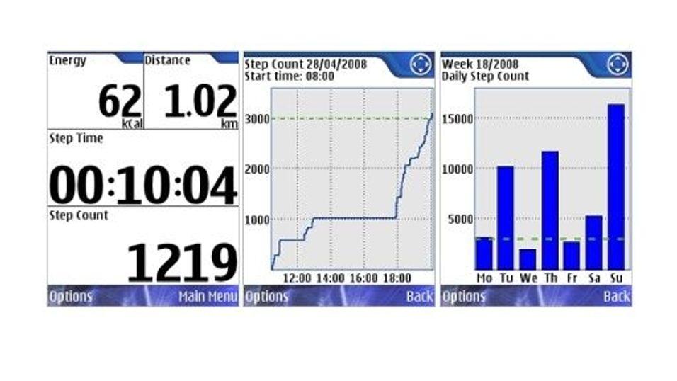Nokia step counter beta