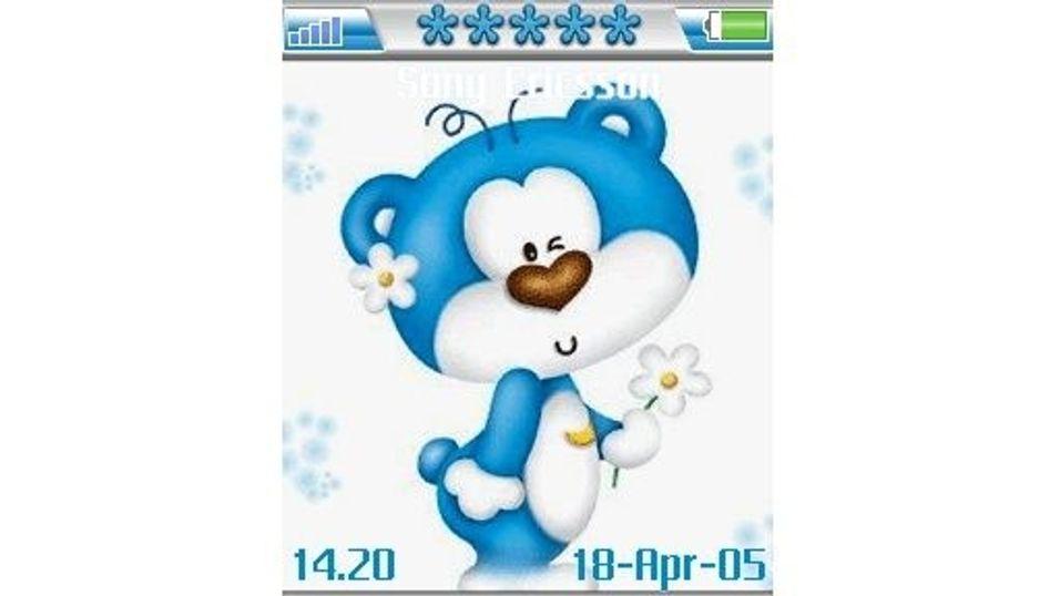 Blue Bear mobiltema