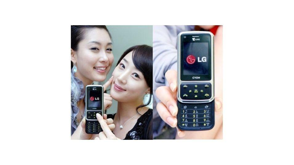 LG vinner i mobilkampen