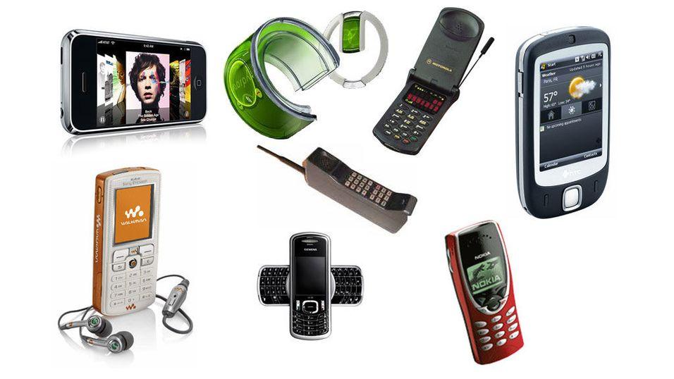 Se mobilutviklingen fra 1985 – 2007