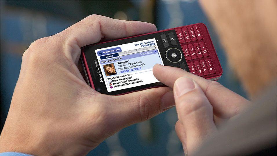 Norsk Myspace på mobilen