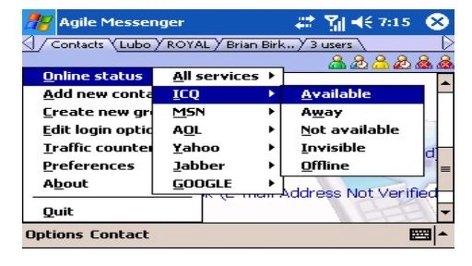 Agile Mobile Messenger