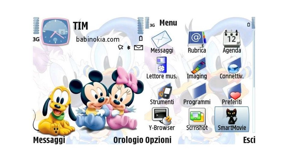 Disney kids mobiltema