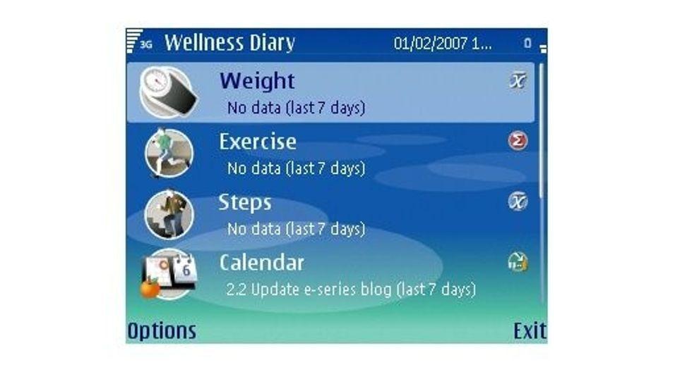 Nokia Wellness Diary v1.18