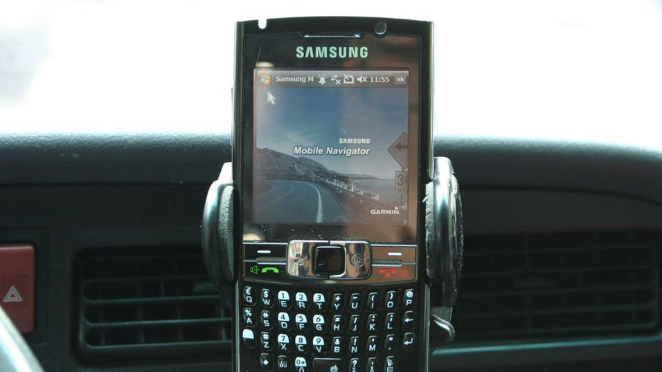 TEST: Test av mobile GPS-programmer: Garmin Mobile XT