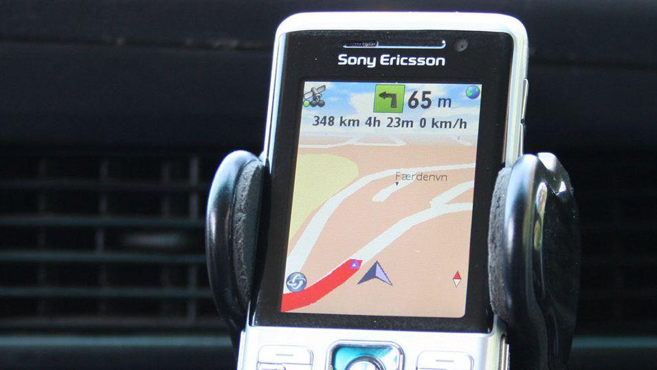TEST: Test av mobile GPS-programmer: Wayfinder
