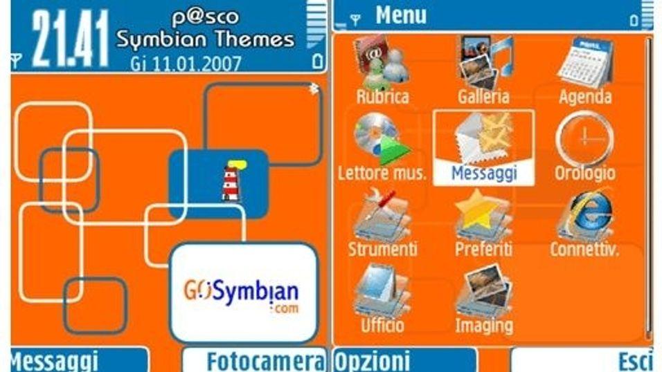 Go Symbian mobiltema