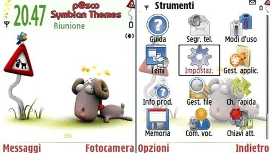 Nicobou Ram mobiltema