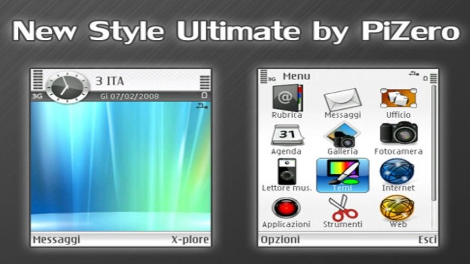 New Style Ultimate mobiltema