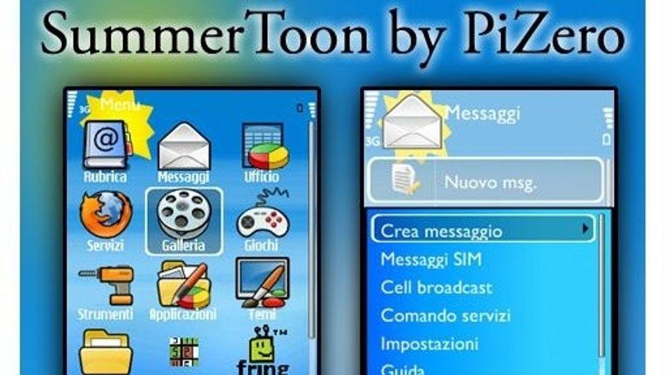 Summertoon mobiltema