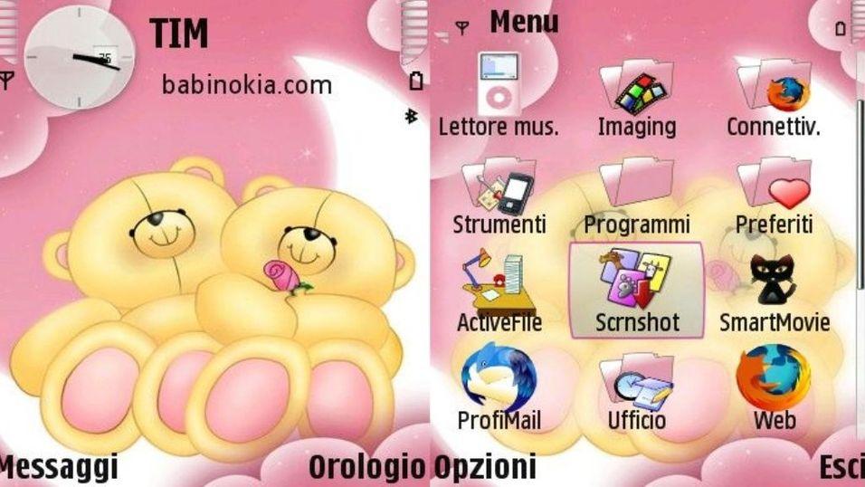 SweetBears mobiltema