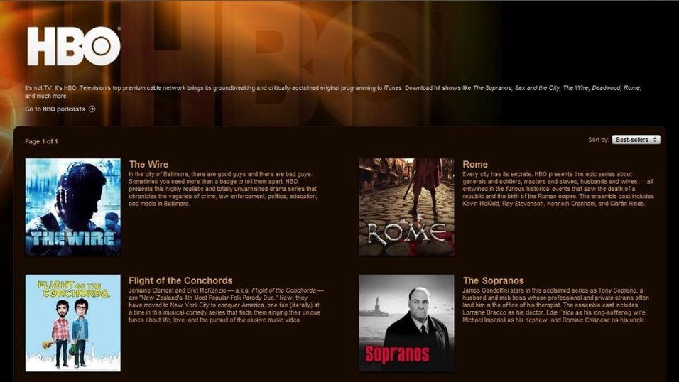 Itunes-film klar for Europa