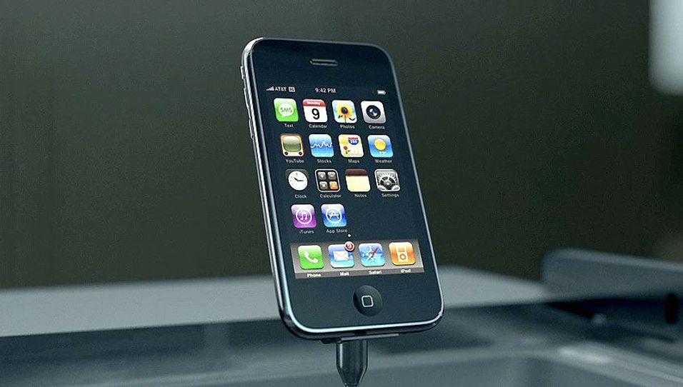 Se bilder og video av nye Iphone 3G