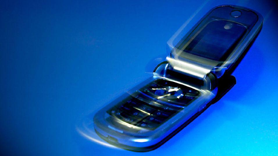Så mye stråler mobilen din