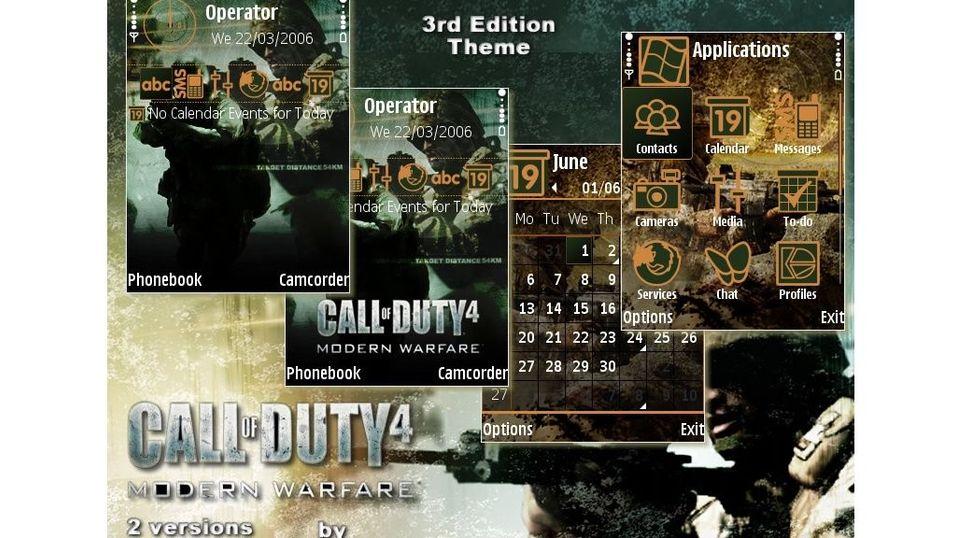 Call of Duty 4 mobiltema
