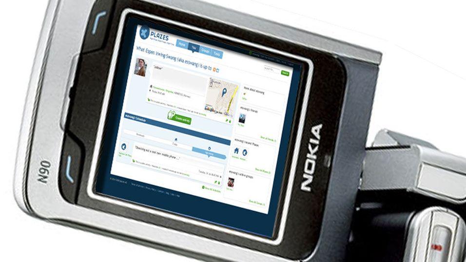 Nokia kjøper Plazes