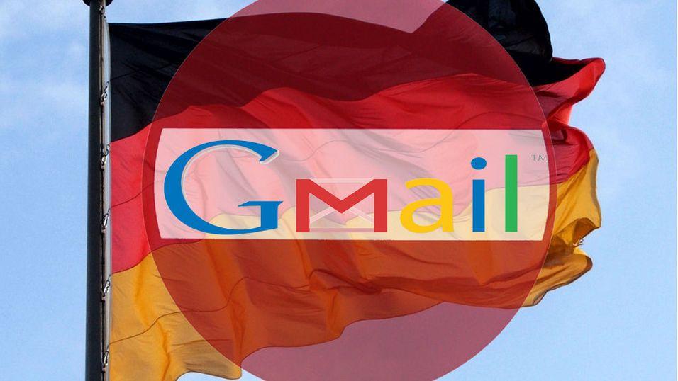 Achtung: Ingen Gmail i Tyskland