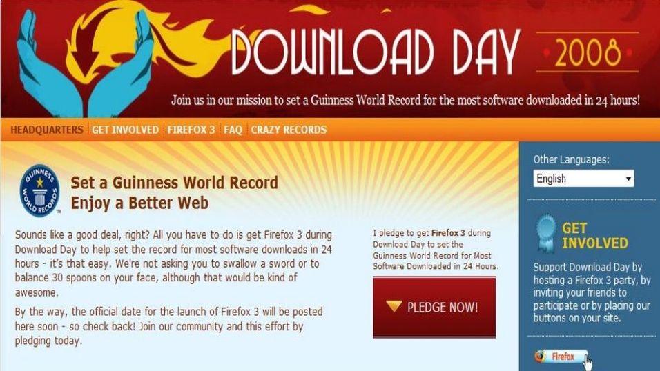20 millioner Firefox lastet ned
