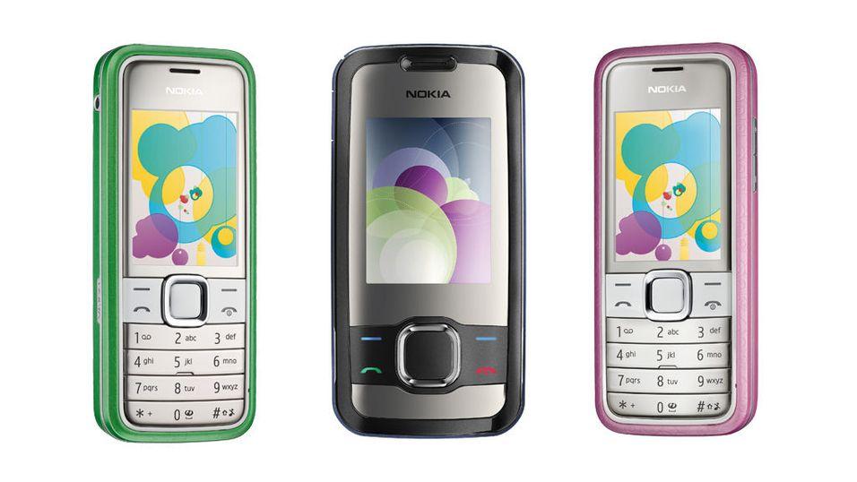 Nye menyer i Nokia-mobiler