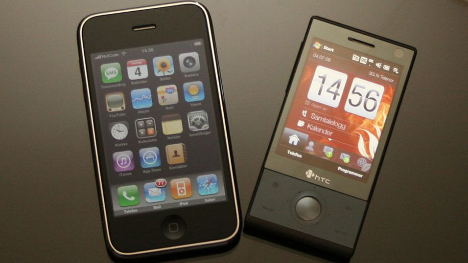 Oppdatert: Touch Diamond versus Iphone 3G
